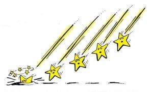 Le 5 stelle cadenti della politica italiana bombagiu for Mobili 5 stelle