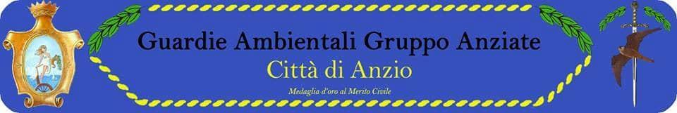 Il logo delle Guardie Ambientali della città di Anzio (RM)