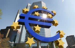 Francoforte. Sede della Banca Centrale Europea.