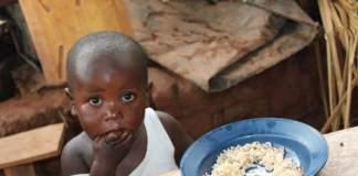 la fame nel mondo