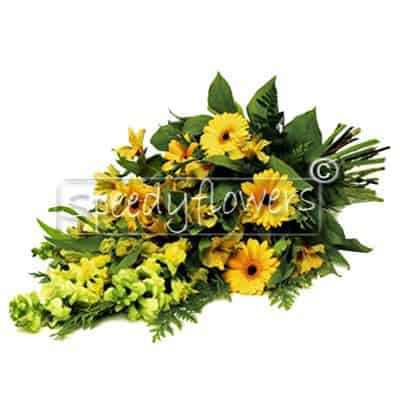 Mazzo-funebre-di-fiori-gialli