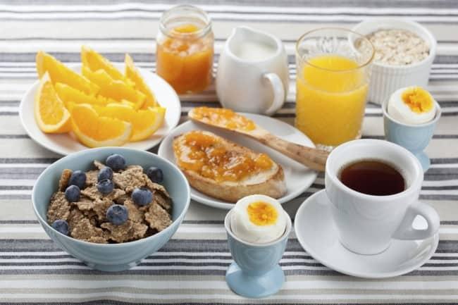 prima colazione equilibrata