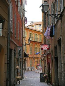 città vecchia di Nizza