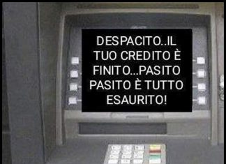 prelevare al bancomat
