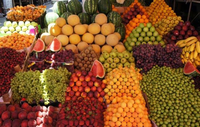 scegliere frutta e verdura