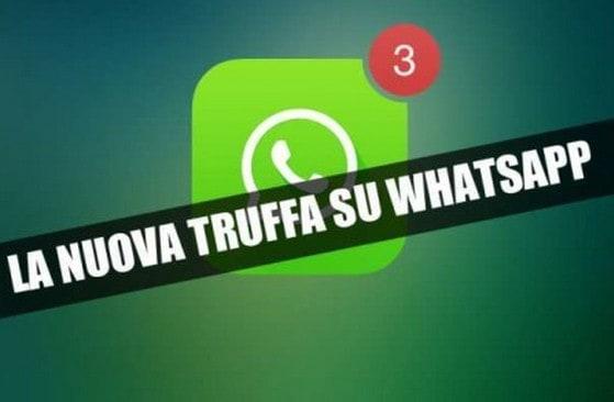 truffe su whatsapp