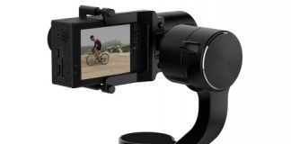 SJ-Gimbal action camera stabilizer