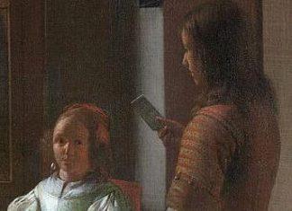 iPhone appaiono in due dipinti