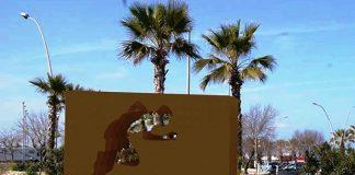 Monumento dedicato a Mennea