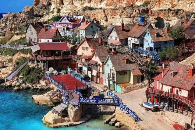 villaggio di Braccio di ferro