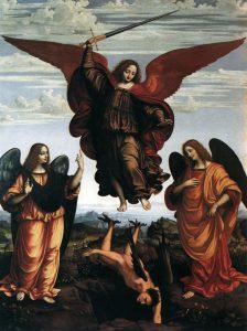 Visioni folcloristiche e fantasiose di angeli