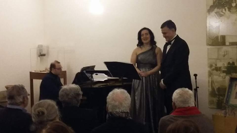 Recital lirico al Museo del Corallo di Napoli