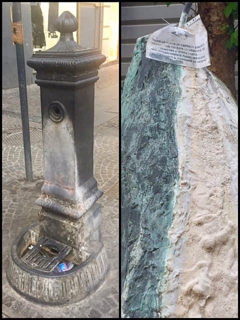 Via Scarlatti o via delle fontane rotte
