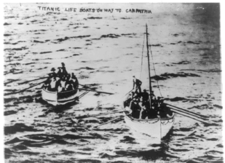 TITANIC_life_boats_on_way_to_CARPATHIA