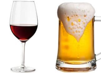 La birra fa ingrassare più del vino