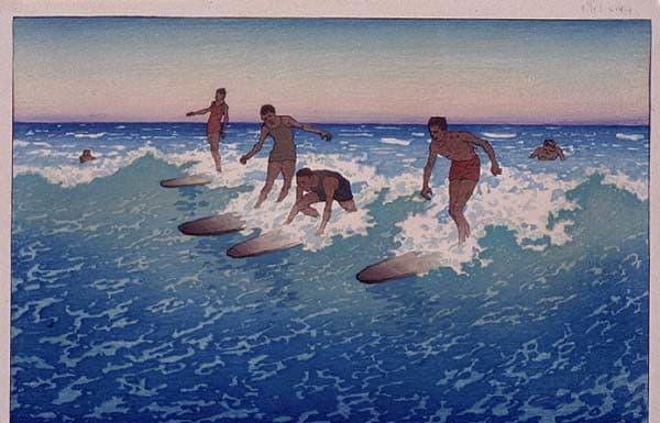 Charles_W__Bartlett_-_'Surf-Riders,_Honolulu'_,_1919,_Color_woodcut,_Honolulu_Academy_of_Arts