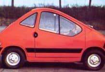 Auto elettrica Fiat del 1976