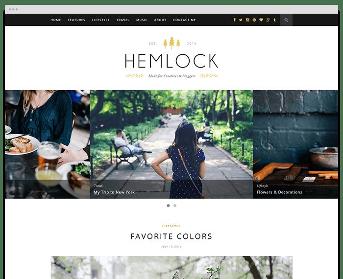 migliori template WordPress