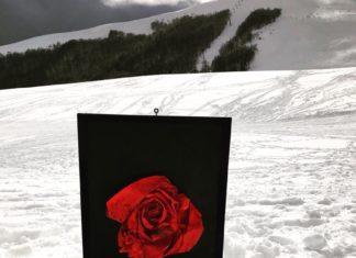 Tre gocce di sangue sulla neve