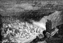 Piovean di foco dilatate falde