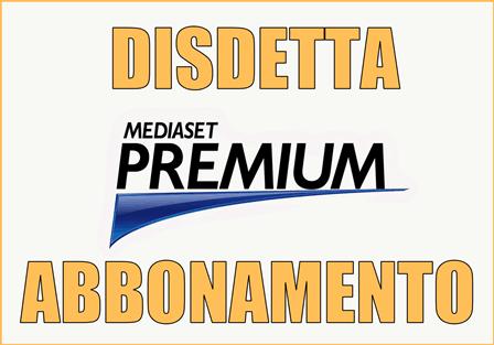 MODULI DISDETTA MEDIASET PREMIUM SCARICA