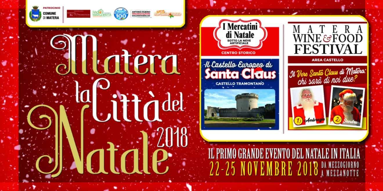 Babbo Natale a Matera 2018