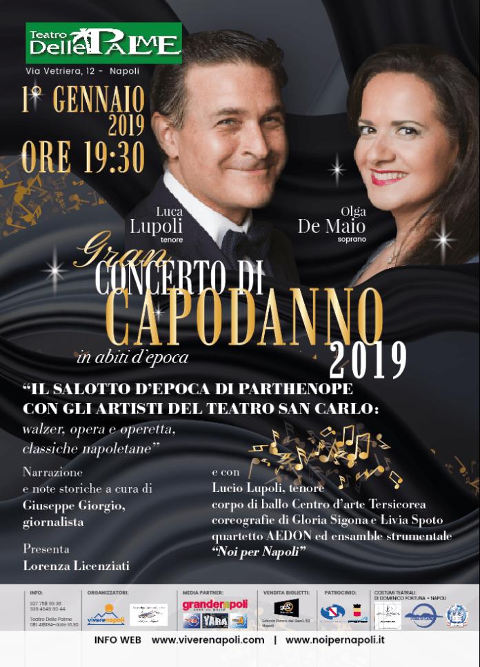 Gran concerto di capodanno 2019