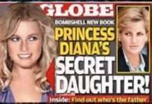figlia segreta di Carlo e Diana