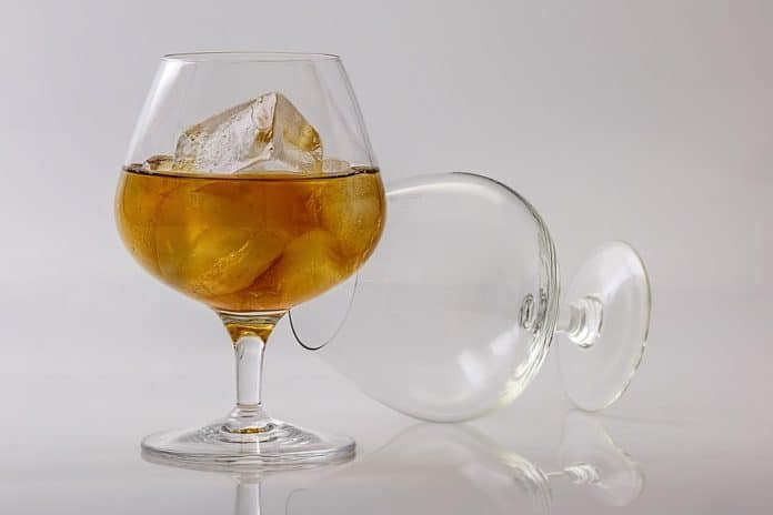 Brandy cognac acquavite e grappa