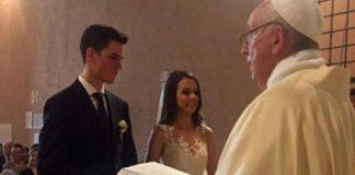 Farsi sposare dal Papa in Vaticano