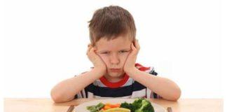 disturbo alimentare nel bambino