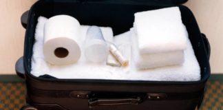 Rubare oggetti in hotel