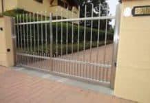 Attenzione al cancello elettrico