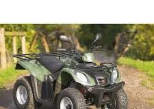 Divertimento con il quad