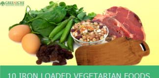 10 iron Loaded Vegetarian Foods