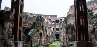 visitare i sotterranei del Colosseo