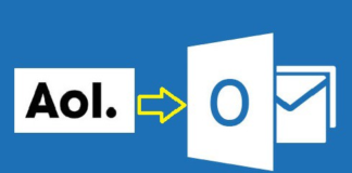 AOL to outlook