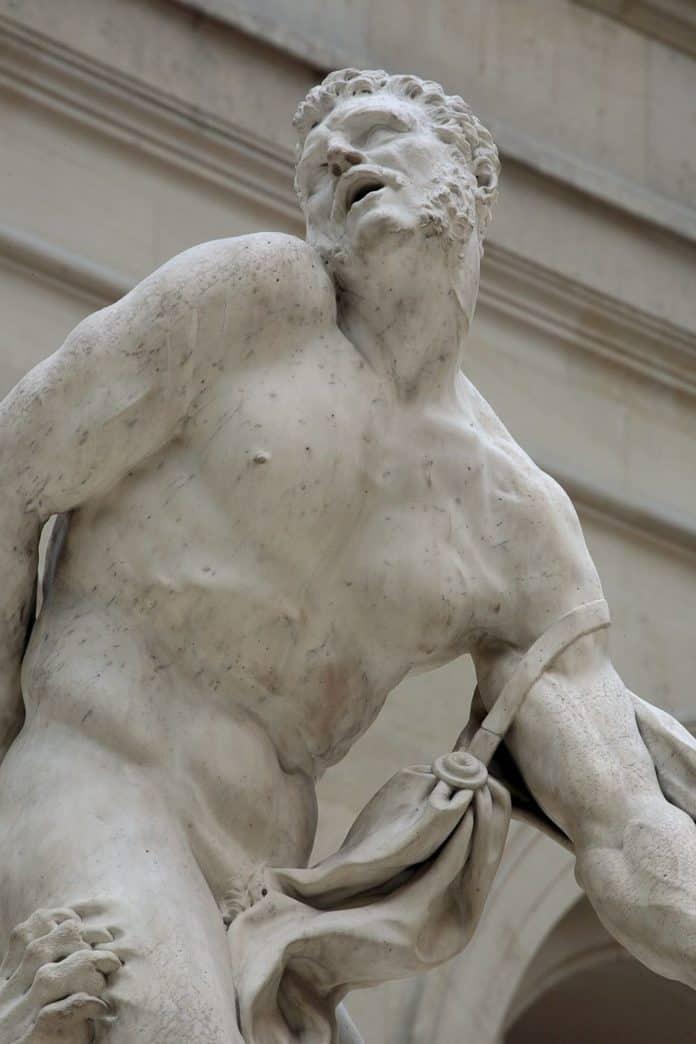 più bei culi del Louvre
