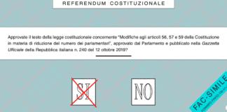 riduzione parlamentari