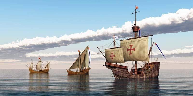 caravelle di Cristoforo Colombo